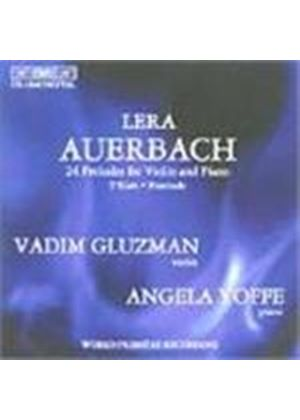 Auerbach: (24) Preludes foer Violin and Piano
