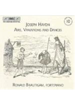 Joseph Haydn - Airs, Variations And Dances: Complete Keyboard Music Vol. 10
