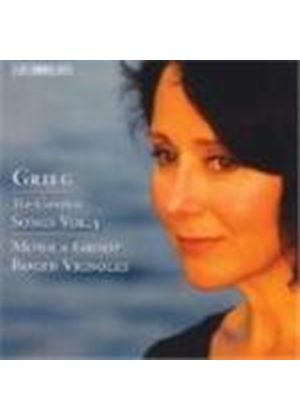 Grieg: (The) Complete Songs, Vol 5