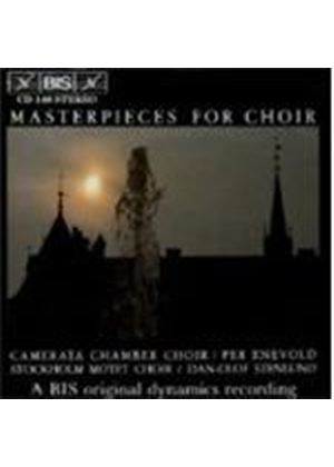 VARIOUS COMPOSERS - Masterpieces For Choir (Stenlund, Enevold, Ekstrand)
