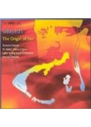 Jean Sibelius - The Origin Of Fire (Vanska, Lahti SO, Hakala) (Music CD)
