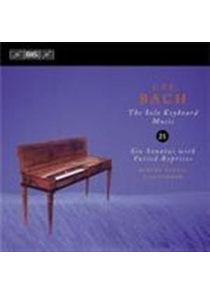 Bach, CPE: Keyboard Works Vol 21 (Music CD)