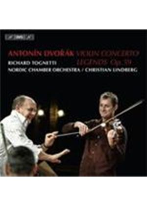 Dvorak: Violin Concerto in A Minor Op.53; Legends Op.59 (Music CD)