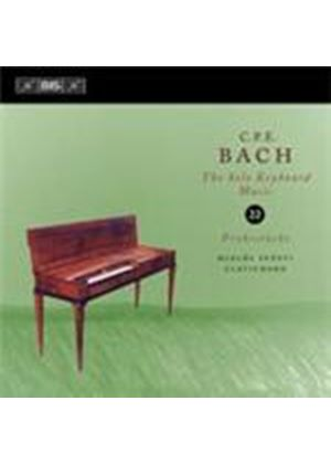 Bach, CPE: Keyboard Works, Vol 22 (Music CD)