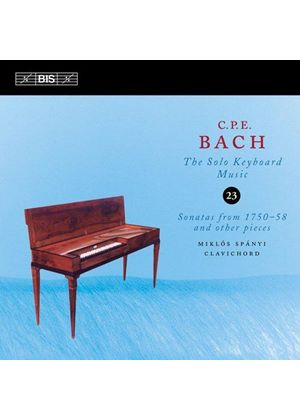 C.P.E. Bach: The Solo Keyboard Music, Vol. 23 (Music CD)