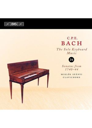 C.P.E. Bach: The Solo Keyboard Music, Vol. 24 (Music CD)