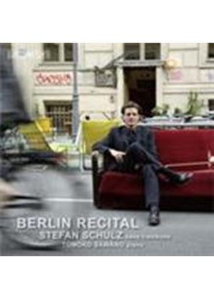 Stefan Schulz - Berlin Recital (Music CD)