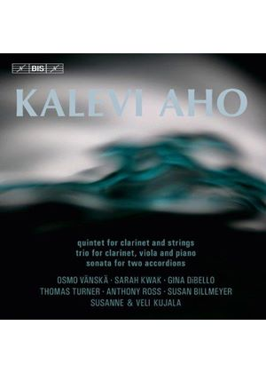 Kalevi Aho: Quintet for Clarinet and Strings; Trio for Clarinet, Viola and Piano; Sonata for Two Acc (Music CD)