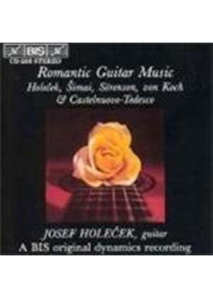 VARIOUS COMPOSERS - Romantic Guitar Music (Holecek)