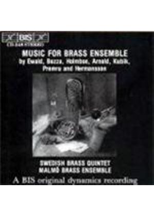 VARIOUS COMPOSERS - Music For Brass Ensemble (Malmo Brassensemble)