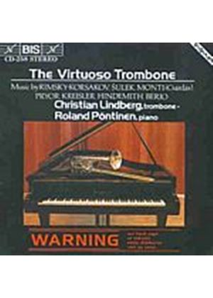 Various Composers - Virtuoso Trombone, The (Lindberg, Pontinen) (Music CD)