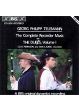 Georg Philipp Telemann - Recorder Duets Vol. 1 (Pehrsson, Laurin)