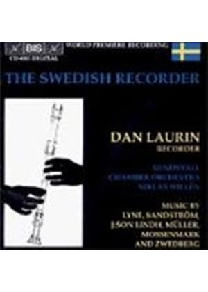 VARIOUS COMPOSERS - The Swedish Recorder - Dan Laurin (Willen, Sundsvall CO)