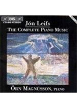 JON LEIFS - Complete Piano Music (Magnusson)