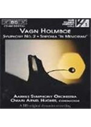 Holmboe: Symphony No 2;Sinfonia in memoriam