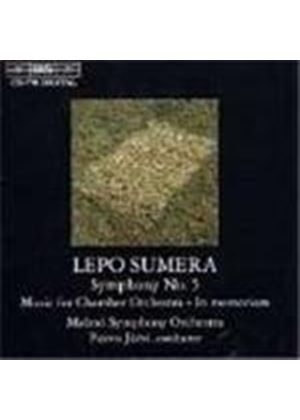 Sumera: Symphony No 5;Music for Chamber Orchestra etc