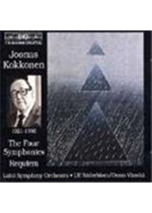Kokkonen: Symphonies Nos 1,2,3 and 4; Requiem etc