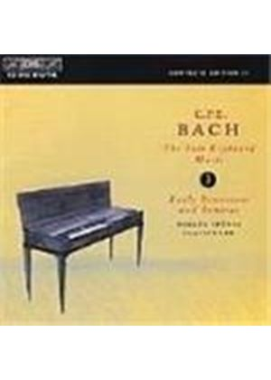 C P E Bach: Solo Keyboard Works, Vol 3