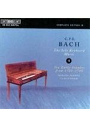 C.P.E. Bach: Solo Keyboard Music, Vol 4
