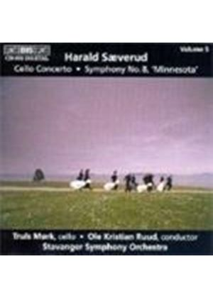 Saeverud: Symphony No 8 'Minnesota'; Cello Concerto
