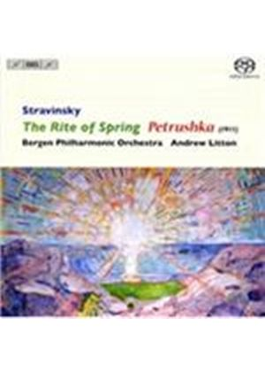 Stravinsky: The Rite of Spring; Petrushka (1911) [SACD] (Music CD)