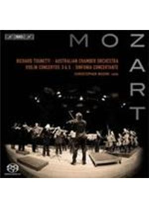 Mozart: Violin Concertos Nos 3 and 5; Sinfonia Concertante (Music CD)
