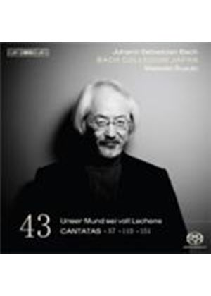 Bach: Cantatas Vol.43 (Music CD)