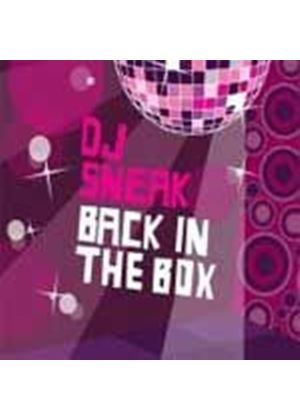 Various Artists - Back In The Box (Mixed By DJ Sneak/Unmixed) (Music CD)