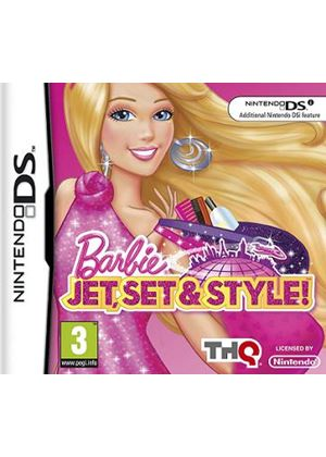 Barbie Jet, Set & Style (Nintendo DS)