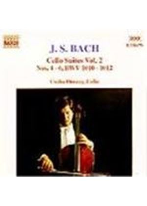 Bach: Cello Suites, Volume 2