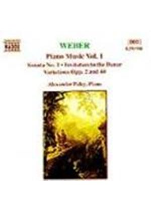 Weber: Piano Works, Vol. 1
