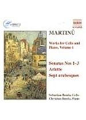 Martinu: Works for Cello & Piano, Volume 1