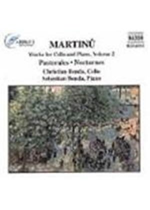 Martinu: Cello Works, Volume 2