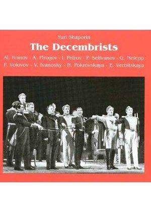 Shaporin: (The) Decembrists