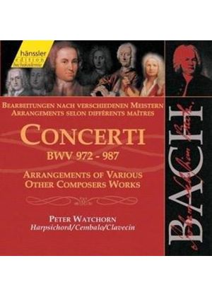 Bach: Concerti BWV972 to 987