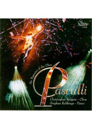 Pasculli: Works for Oboe and Piano