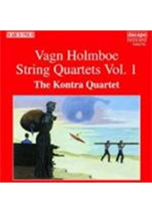 Holmboe: String Quartets, Vol. 1