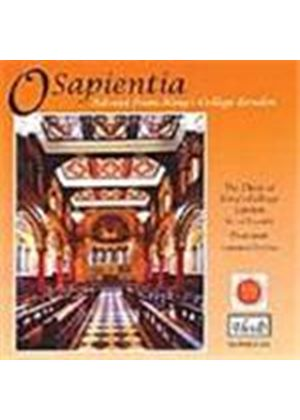 O Sapientia - Advent from King's College London