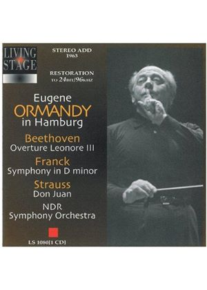 Eugene Ormandy conducts Beethoven, Franck and Strauss, R
