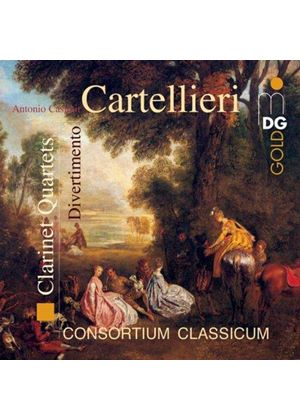 Cartellieri: Clarinet Quartets; Divertimento
