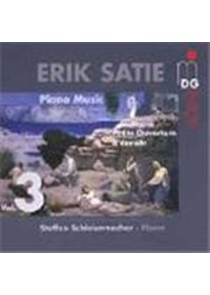 Satie: Piano Works,Vol 3