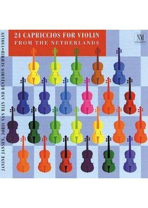 (24) Capriccios from the Netherlans for Violin