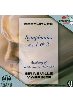 Beethoven: Symphonies Nos 1 & 2 [SACD]
