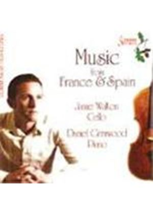French & Spanish Works for Cello and Piano
