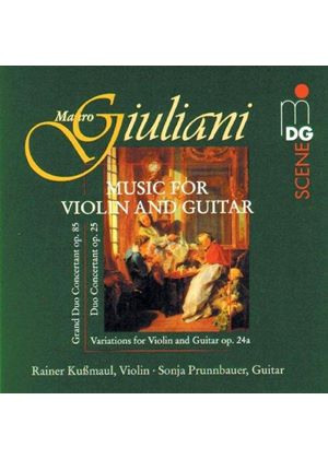 Giuliani: Music for Violin & Guitar