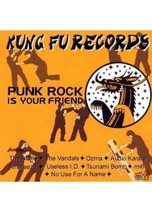 Various Artists - Kung Fu Records Sampler Vol.3 (Punk Rock Is Your Friend)