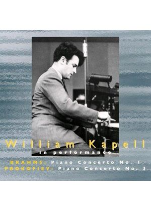 Kapell plays Brahms and Prokofiev