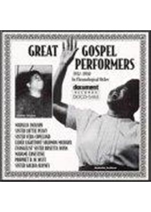 Mahalia Jackson - Mahalia Jackson & Other Great Gospel Performers 1937-1950