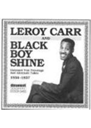 Leroy Carr - Black Boy Shine 1934-1937