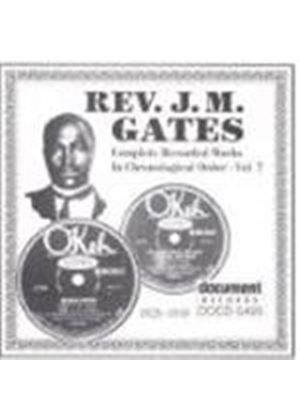 Rev. J.M. Gates - Rev. J.M. Gates Vol.7 1929-1930